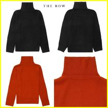 The Row Casual Style Wool Cashmere Long Sleeves Plain Medium