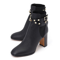VALENTINO Leather High Heel Boots