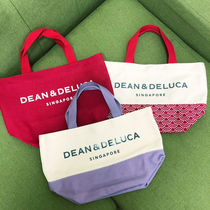 DEAN&DELUCA Casual Style A4 Plain Totes