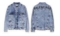 BALENCIAGA Denim Logo Jackets