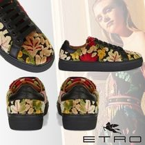 ETRO Flower Patterns Paisley Rubber Sole Casual Style