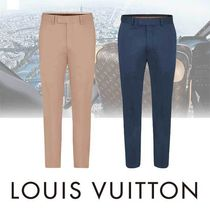Louis Vuitton Tapered Pants Plain Cotton Tapered Pants