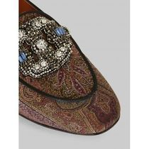 ETRO Paisley Rubber Sole Casual Style Loafer & Moccasin Shoes