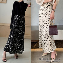 Pencil Skirts Casual Style Long Maxi Skirts
