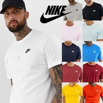 Nike Crew Neck Street Style Short Sleeves Crew Neck T-Shirts
