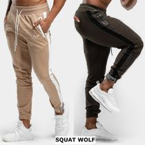 SQUAT WOLF Blended Fabrics Street Style Collaboration