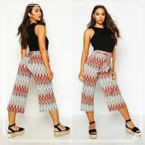 boohoo Casual Style Street Style Medium Culottes & Gaucho Pants