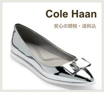 Cole Haan Platform Plain Office Style Elegant Style Espadrille Shoes