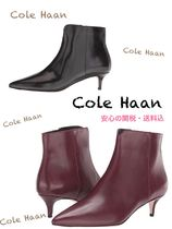Cole Haan Casual Style Leather Pin Heels Ankle & Booties Boots