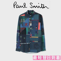 Paul Smith Street Style Long Sleeves Cotton Shirts