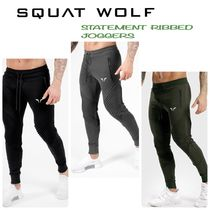 SQUAT WOLF Street Style Collaboration Activewear Bottoms