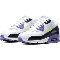 Nike AIR MAX 90 Unisex Street Style Plain Oversized Dad Sneakers Logo