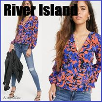 River Island Flower Patterns Tropical Patterns Casual Style Street Style