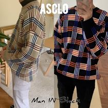 ASCLO U-Neck Long Sleeves Knits & Sweaters