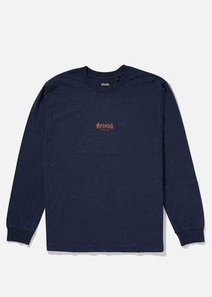 AFENDS Long Sleeve Crew Neck Long Sleeves Cotton Long Sleeve T-Shirts 6