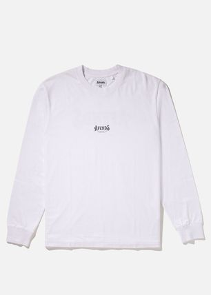 AFENDS Long Sleeve Crew Neck Long Sleeves Cotton Long Sleeve T-Shirts 10