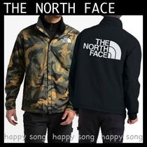 THE NORTH FACE Short Camouflage Street Style Coach Jackets Coach Jackets