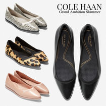 Cole Haan Casual Style Plain Other Animal Patterns Leather