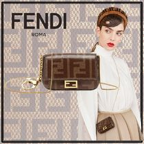 FENDI BAGUETTE 2WAY Chain Shoulder Bags