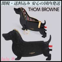 THOM BROWNE Leather Coin Purses
