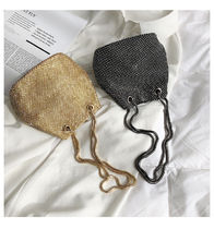 Casual Style Blended Fabrics Plain Party Style Purses