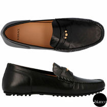 VERSACE Loafers Leather U Tips Loafers & Slip-ons