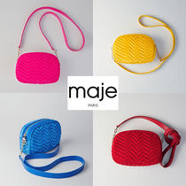 maje Casual Style Street Style Plain Bags