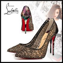 Christian Louboutin Other Animal Patterns Pin Heels Elegant Style