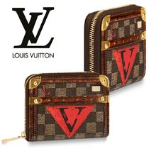 Louis Vuitton ZIPPY COIN PURSE Monogram Folding Wallets