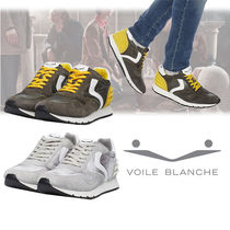 VOILE BLANCHE Suede Blended Fabrics Plain Sneakers