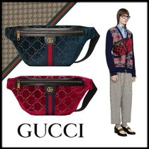 GUCCI Casual Style Unisex 2WAY Hip Packs