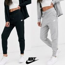 Nike Casual Style Sweat Street Style Plain Long Short Length