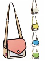 Jump From Paper Shoulder Bags