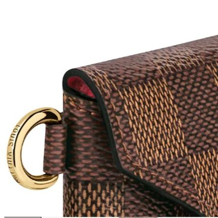 Louis Vuitton DAMIER 2019-20AW DAMIER KIRIGAMI NECKLACE damier more wallets cases