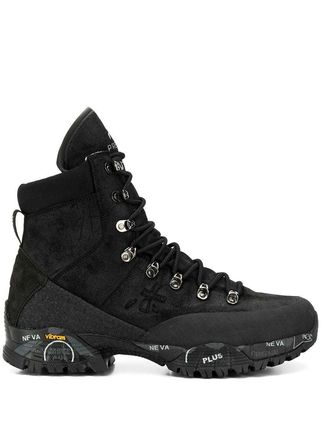Mountain Boots Blended Fabrics Street Style Sneakers