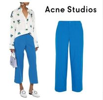 Acne Plain Cropped & Capris Pants