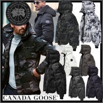 CANADA GOOSE MACMILLAN Short Camouflage Street Style Down Jackets