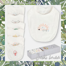 Stella McCartney Unisex Organic Cotton Baby Girl Bibs & Burp Cloths