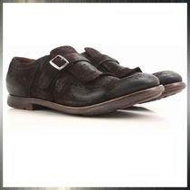 Church's Monk Suede Plain Fringes Loafers & Slip-ons