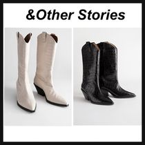 & Other Stories Cowboy Boots Casual Style Street Style Other Animal Patterns