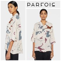 PARFOIS Dots Casual Style Cropped Other Animal Patterns Medium