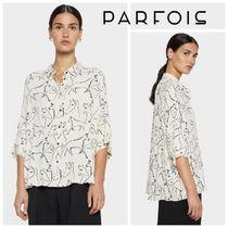 PARFOIS Casual Style Cropped Other Animal Patterns Medium