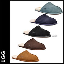 UGG Australia SCUFF Plain Toe Suede Plain Shoes