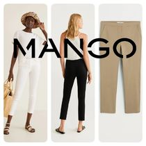 MANGO Plain Medium Skinny Pants