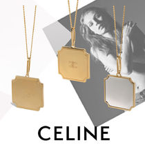 CELINE Unisex Party Style Elegant Style Necklaces & Pendants