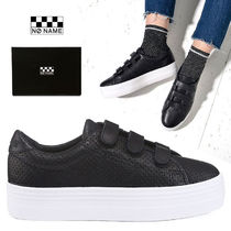 NO NAME Casual Style Unisex Plain Party Style Low-Top Sneakers