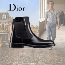 DIOR HOMME Plain Leather Boots