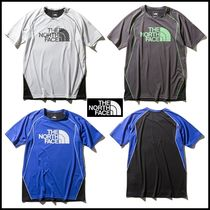 THE NORTH FACE Crew Neck Pullovers Unisex Bi-color Short Sleeves