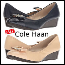 Cole Haan Casual Style Blended Fabrics Plain Elegant Style