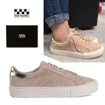NO NAME Unisex Plain Low-Top Sneakers